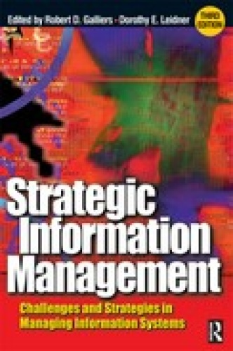 Strategic Information Management, 3rd Edition
