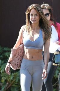 Brooke Burke - Leaving Yoga Class in LA (4/30/18)