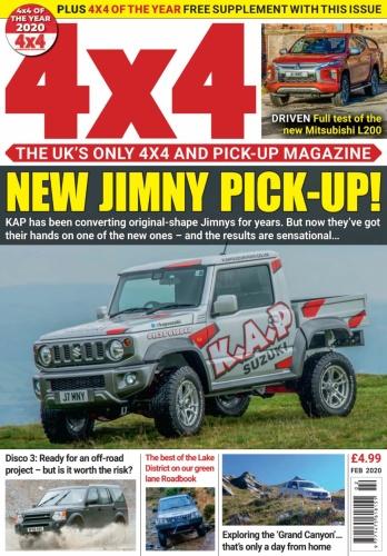 4x4 Magazine UK - February (2020)