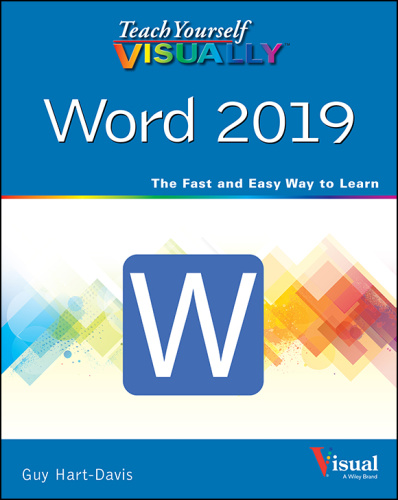 Teach Yourself VISUALLY Word 2019