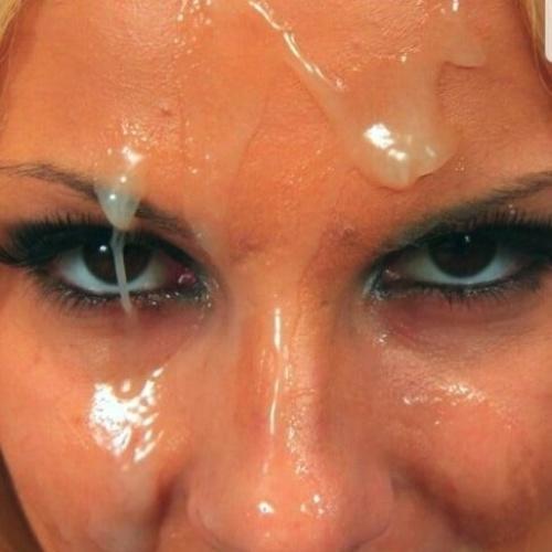 Teen facial sperm