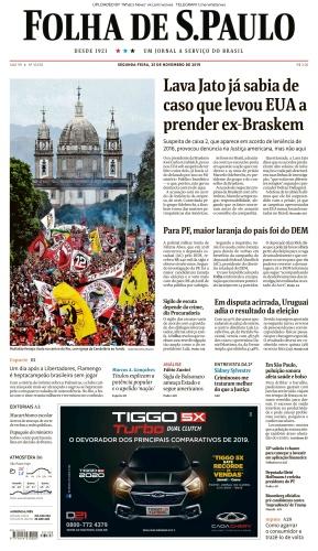 Folha de S 227 o Paulo - 25 11 (2019)