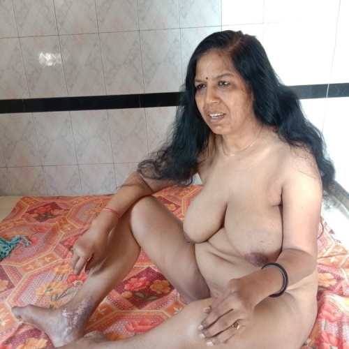 My nude wife at home