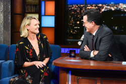 Robin Wright - The Late Show with Stephen Colbert: October 19th 2018