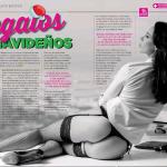 Melanie Pavola Revista H Diciembre 2017 | the4um.com.mx