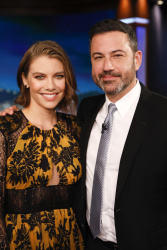 Lauren Cohan - Jimmy Kimmel Live: July 23rd 2018