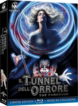 Il tunnel dell'orrore - The Funhouse (1981) [Limited Edition 3 Blu-Ray] Full Blu-Ray 93Gb AVC ITA ENG DTS-HD MA 2.0
