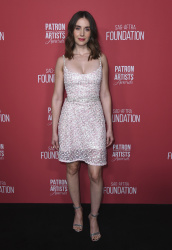 Alison Brie at the Patron of the Artists Awards in Beverly Hills - 11/8/18