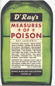 Measures of Poison by Dennis Ray McMillan