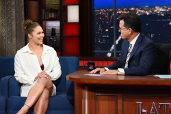 Ronda Rousey - The Late Show with Stephen Colbert: July 31st 2018