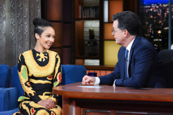Ruth Negga - The Late Show with Stephen Colbert: June 19th 2018