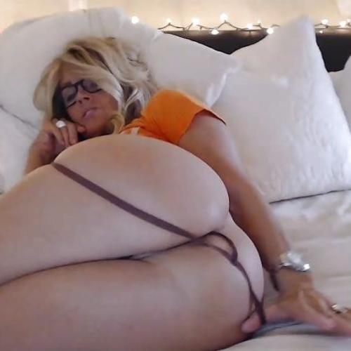 Ebony cougar booty