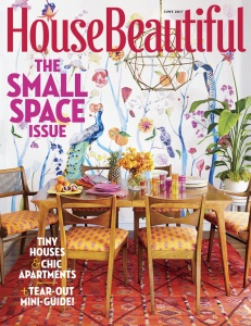 House Beautiful USA  June (2017)