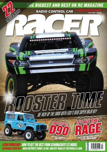 Radio Control Car Racer  July (2018)