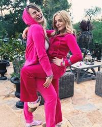 Chloe Moretz With a Friend - 2/9/19 Instagram