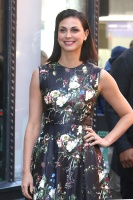 Morena Baccarin -                  AOL Build Arrival New York City February 27th 2018.