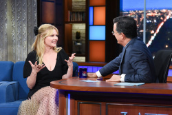Kirsten Dunst - The Late Show with Stephen Colbert: August 15th 2019