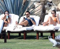 Kourtney Kardashian & Sofia Richie - Bikini candids in Mexico 12/23/18