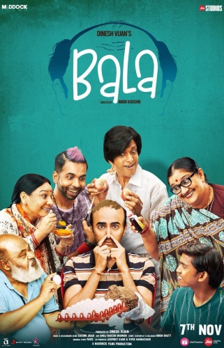 Bala (2019) 1080p HDRip x264 DD 7 1 Esubs DUS Exclusive