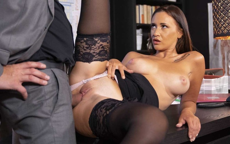 Mina Moreno - New Secretary With Big Natural Tits - Watch XXX Online [FullHD 1080P]