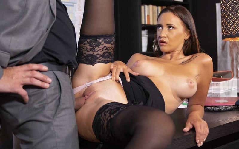 Mina Moreno - New Secretary With Big Natural Tits [FullHD 1080P]