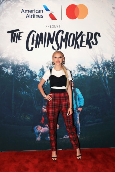 Jordyn Jones -            American Airlines And Mastercard Present The Chainsmokers The Wiltern Los Angeles June 14th 2018.