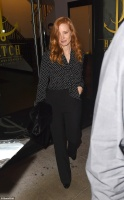 Jessica Chastain - leaving Catch restaurant in LA 11/5/17