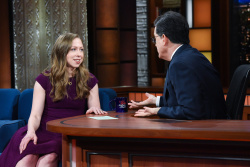 Chelsea Clinton - The Late Show with Stephen Colbert: March 5th 2018