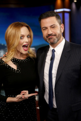 Heather Graham - Jimmy Kimmel Live: February 12th 2018