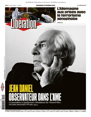 Libération - 21 02 (2020)
