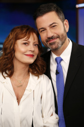 Susan Sarandon - Jimmy Kimmel Live: October 26th 2017