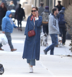Katie Holmes - Out in NYC 3/27/19