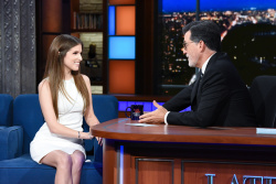 Anna Kendrick - The Late Show with Stephen Colbert: September 14th 2018