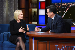 Kirsten Gillibrand - The Late Show with Stephen Colbert: November 8th 2018