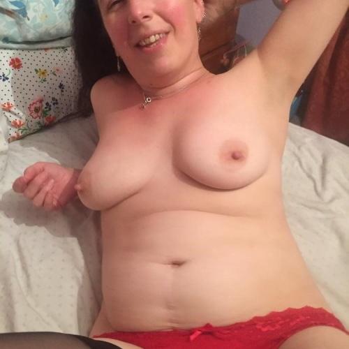Red lingerie porn pics