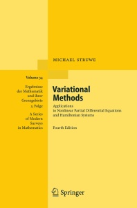 Variational Methods- Applications to Nonlinear Partial Differential Equations and ...