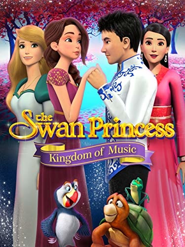The Swan Princess Kingdom Of Music (2019) WEBRip 720p YIFY