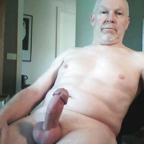 Hairy older men nude