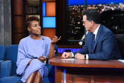 Issa Rae - The Late Show with Stephen Colbert: August 9th 2018