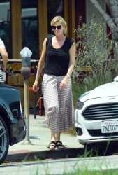 Charlize Theron - Leaving Salt's Cure in LA 08/10/2018