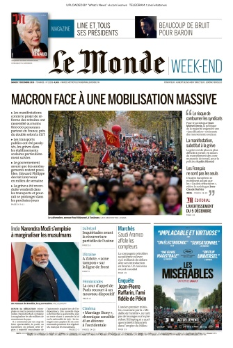 Le Monde - 07 12 (2019)