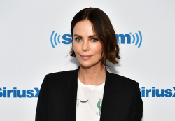 Charlize Theron - Visits SiriusXM Studios in New York City 04/29/2019