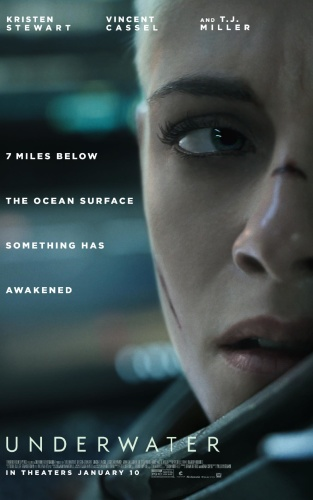 Underwater (2020) English HDCAM-Rip  720p - x264 AAC 850MBMB