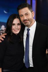 Courteney Cox - Jimmy Kimmel Live: January 7th 2019