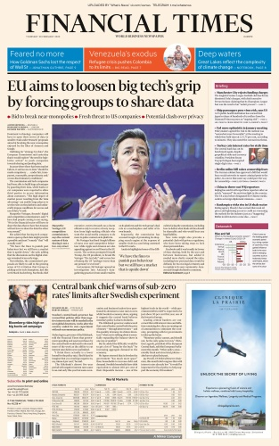 Financial Times Europe - 20 02 (2020)