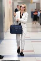 Cate Blanchett -                             JFK Airport New York City May 22nd 2018.