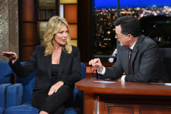 Brooke Baldwin - The Late Show with Stephen Colbert: October 16th 2018