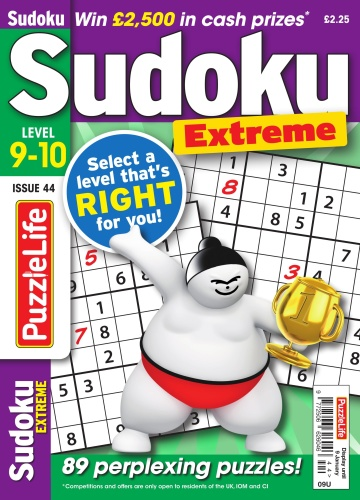 PuzzleLife Sudoku Extreme  December (2019)