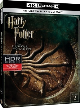 Harry Potter e la camera dei segreti (2002) Full Blu-Ray 4K 2160p UHD HDR 10Bits HEVC ITA DD-EX 5.1 ENG DTS-HD MA 7.1 MULTI