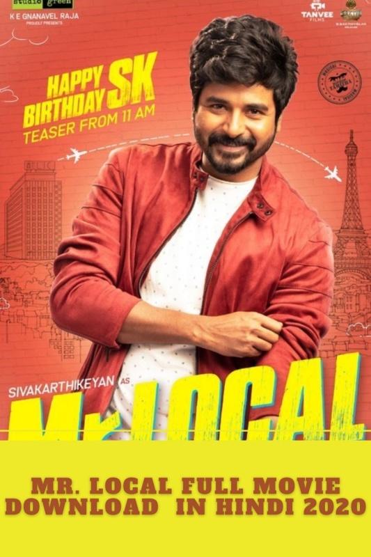 Mr. Local Full Movie Download Movierulz 2020